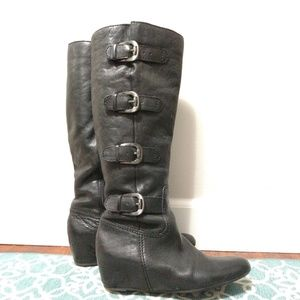 Leather Boots size 7 1/2